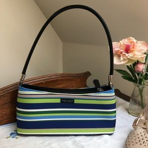 Kate Spade green and blue box purse